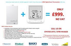 Vokera Easi Heat Combi 25 / 30 KW Supply & Fit with 5 Years Warranty