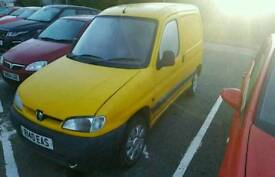 Peugeot Partner Van 1.9 Yellow