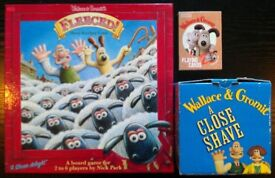 'Wallace & Gromit': Board Game, Puzzle & Picture Playing Cards