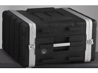 Heavy duty ABS case for 6-unit rack