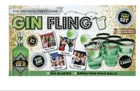 Job lot of drinking games prosecco drinking gin pong fling beer pong