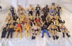 Assorted WWE Wrestling Figures