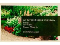 Just Busy Landscaping Driveways & Patios