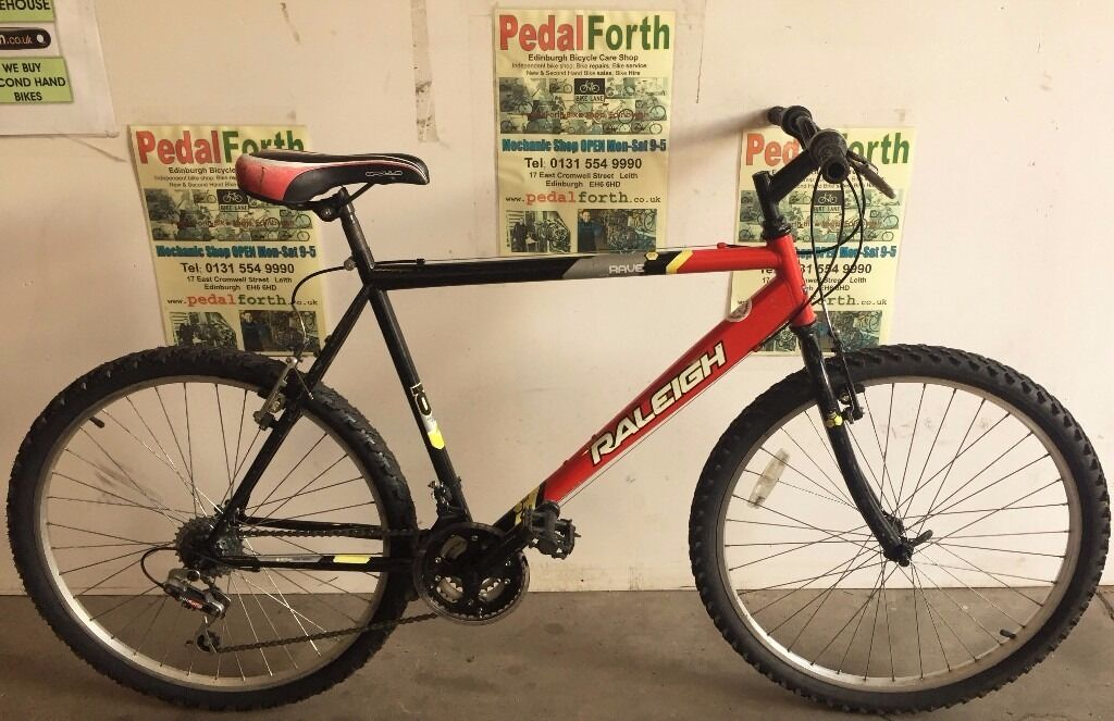 "USED Raleigh Rave 21"" (Pedal Forth, Leith)"