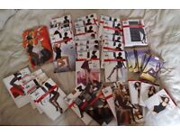 51 pcs. pantyhose and tights, clothes, brand new Very cheap 2 boxes