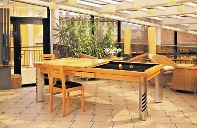 7 Vision Convertible Modern Pool Billiard Table Dining   Office Fusion   Mirage