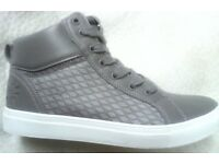 New Superdry Womens High Top Trainers 6UK
