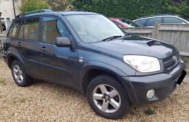 Toyota Rav4 - 2005, 2L Manual, Diesel, sat nav, leather...