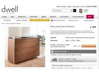 Hixon wide chest of drawers from Dwell