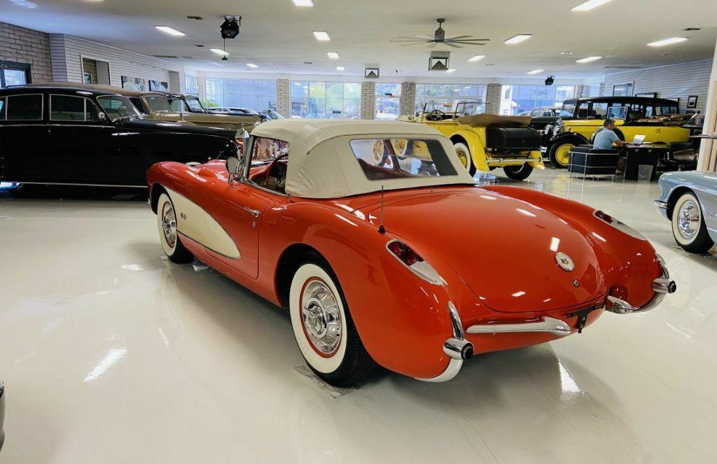 1957 Red Chevrolet Corvette   | C1 Corvette Photo 7