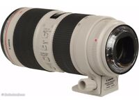CANON LENS 70-200MM F/2.8 L II IS Excellent Condition