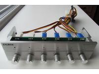 Zalman ZM-MFC1 Plus Six Channel Multi Fan Speed Controller