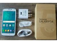 Boxed and unlocked phone Samsung s5 16gb