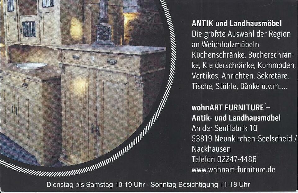 ★ ANTIK ★ Gründerzeit Weichholz Schrank Kleiderschrank ★TOP in Neunkirchen-Seelscheid