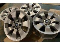 Genuine BMW alloy wheels - Fully Refurbished - Grab a bargain! Clearance Vivaro