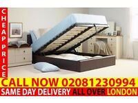 WOW OFFER Storage Leather Bedding Frame Single also have double and king Gustine