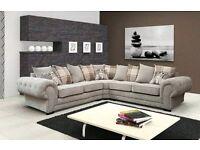 NEW Fabric Corner sofa ( in original packaging)