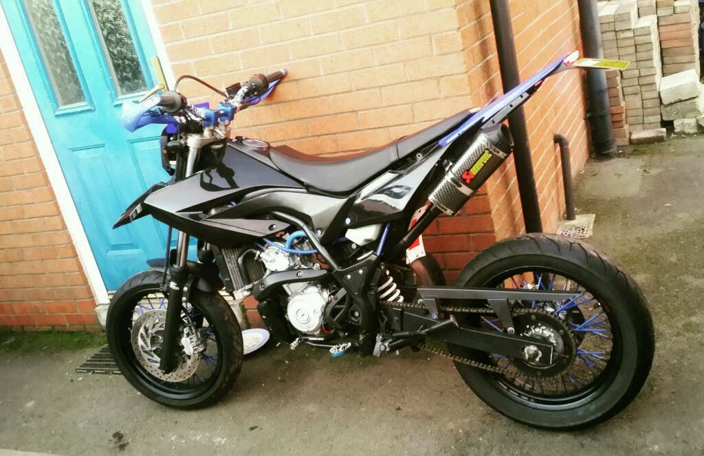 yamaha wr125x 2012 modified 2600 ono in derby. Black Bedroom Furniture Sets. Home Design Ideas