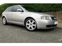 **AUDI S3 QUATTRO SILVER**+LOW MILES+ENTHUSIAST OWNED+ SUPERB HISTORY+XENONS+