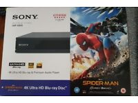 NEW 4K Blu-Ray player, Sony UBP-X800
