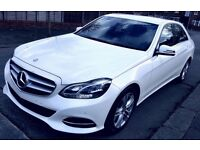 2013 MERCEDES E300 HYBRID BLUETEC DIESEL/ELECTRIC AUTO WHITE