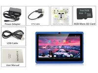 Brand new, sealed, 7 inch Android Tablet PC 8GB WIFI Bluetooth 2 Camera Allwinner tablet