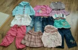 Girls clothing bundle age 2-3 yrs