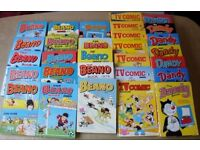 Beano, Dandy and TV Comic Annuals