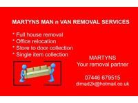 (((( MAN and VAN )))) House move, Office relocation, item collection, Packing, assembly disassembly