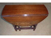 Vintage Gate Leg Table