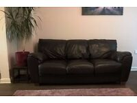 BARGAIN!!! 2 leather sofas for £50!!!