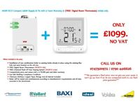Main eco compact 25 KW BOILER INSTALLATION Supply & Fit & FREE Digital Room Stat.