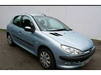 2003 Peugeot 206 1.1 Fever 5Dr++Full Service History+Low miles+Drives Well+Clean