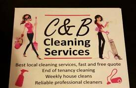 C & B Cleaning Services all carpet cleans welcome