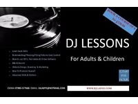 DJ Lessons for Children & Adults £25 phr