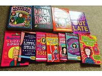 Job Lot of 40 Jacqueline Wilson Books - titles listed- collection from Uist only