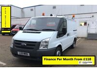Ford Transit 2.2 300, One Owner From New, Full Service History, 1 Year MOT, Warranty, Mileage 109K,