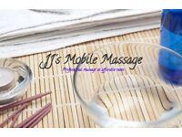 JJ's Mobile Massage | Qualified Swedish Massage Therapist | Excellent Rates