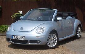Volkswagen Beetle 1.9 TDI Cabriolet 2dr #1 Lady Owner # Leather