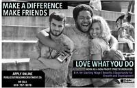 Make Friends, Make A Difference, Love Your Work! ($14/hr)