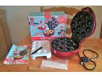 American Originals - Cake Pop Maker - with recipe manual, pop sticks, cake stand and removal fork