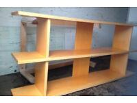 large TV stand beech cabinet shelve ideal for large TV plasma shelf Ikea
