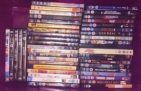 Approx 300 DVDs