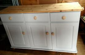 Solid pine Upcycled sideboard