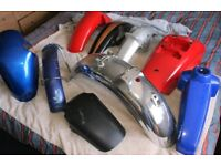 Motorcycle Fender/Mudguards Job Lot Autojumble