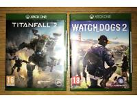 Watchdogs 2 &Titanfall 2 on Xbox One