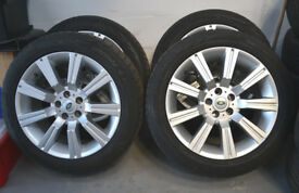 Range Rover Stormer Alloys With Nearly New Tyres 20""