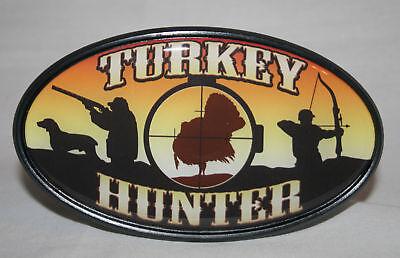 Turkey Hunter Trailer Hitch Cover, Car Truck Auto