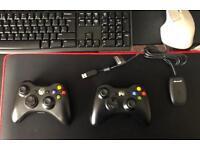 Wireless Xbox 360 PC combo
