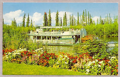 "postcard...RIVERBOAT ""DISCOVERY"",  FAIRBANKS, AK"